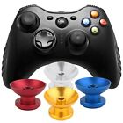 1 Pair Metal Analog Thumbsticks Thumb Stick Joystick Cap Cover for Xbox 360 &9