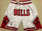 New Men's Chicago Bulls shorts 1997-98's Finals Basketball Retro pants White on eBay