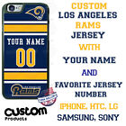 NFL LOS ANGELES RAMS PHONE CASE COVER CUSTOM WITH NAME& # FOR iPHONE SAMSUNG etc $23.98 USD on eBay