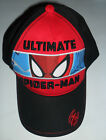 PRIMARK BOYS MARVEL COMICS SPIDERMAN HAT CAP NEW ONE SIZE AGES 2 - 7 YEARS