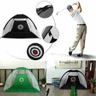 2M 3M Golf Practice Driving Hit Net Cage Training Mat Aid Driver Irons Carry Bag