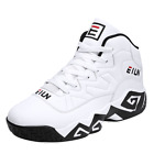 Men's Retro Basketball Shoes High Top Sports Sneakers Boots Outdoor Winter Hard