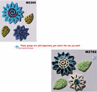 FLOWERS 3D  -  HANDMADE CLAY CERAMIC MOSAIC TILES ( Pick you Tile) #10