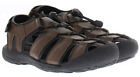 Khombu Mens Sandals Active Travis Water Shoe Brown New Many Sizes