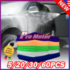 Lot Pack Microfiber Cleaning Cloth Towel No-Scratch Rag Car Polishing Detailing