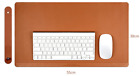 Genuine Leather Durable Big Mouse Pad For Computers & Laptops