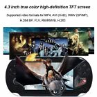 """Xmas Portable 8GB 4.3"""" gift 2000Games Handheld Video Game Console MP5 Player Kit"""