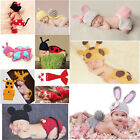 Baby Outfits For Girls Boys Newborn Knit Crochet Clothes Photo Photography Prop
