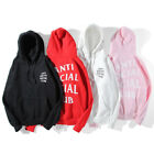 Fashion Men Women's Anti Social Social Club ASSC Hoodie Hooded Casual Sweatshirt