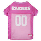 Oakland Raiders Licensed NFL Pets First Dog Pet Mesh Pink Jersey Sizes XS-L $27.97 USD on eBay