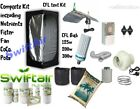 Complete CFL Hydroponic Grow Room Nutrient Tent Fan Filter Light Canna CoCo Kit