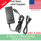 20V 65W AC Adapter For Lenovo IdeaPad Yoga 13-2191 Power Supply Charger +Cord FA