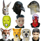 Latex Realistic Animal Human Cosplay Masquerade Fancy Dress Props Carnival Mask