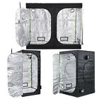 Hydroponic Grow Tents With 600D Silver Mylar, Steel Poles & Corners - 12 Sizes