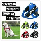 Pet Dog Harness Puppy Reflective Collar Vest with Handle  2 patches(US shipping)