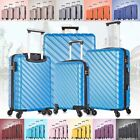 3 & 4  Piece Hardcase Luggage Set Travel Bag Trolley Spinner Suitcase ABS w/Lock