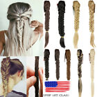 Hair Extensions Braided Ponytail Plaited Ponytail Clip In 20