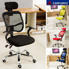 'Ergonomic Mesh Office Chair Adjustable Executive High Back Swivel Fabric Chrome