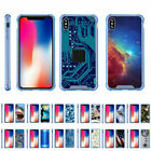 """For Apple iPhone XS Max (6.5"""") Slim Fitted Flexible TPU Case Shock Bumper Blue"""