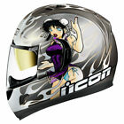ICON Alliance GT DL18 Full Face Helmet SILVER FREE SHIPPING