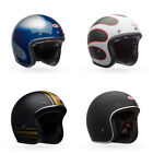 Bell Custom 500 Carbon 3/4 Open Face Motorcycle Helmet - Choose Size $239.97 USD on eBay