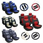 13pc Universal Washable 4MM Padding Car Seat Covers w/Headrest Covers For Toyota $28.99 USD on eBay