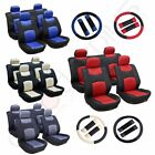 13pc Universal Washable 4MM Padding Car Seat Covers w/Headrest Covers For Toyota $27.98 USD on eBay