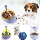 Dog Cat Pet Puzzle Toys Tough-Treat Ball Mental Food Dispenser Interactive Play