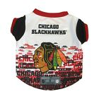 Chicago Blackhawks NHL Dog Pet Performance Tee Sizes XS-XL $19.95 USD on eBay