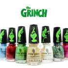 China Glaze Nail Polish  - The Grinch Winter 2018 Collection full size -Pick Any