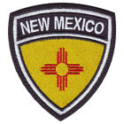 New Mexico Flag Crest Embroidered Patch
