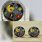 Steampunk Star Trek Cabochon Necklace  / Cufflinks Nerd Geek Trekkie Trekker UK on eBay