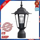 POST POLE LIGHT Outdoor Garden Patio Terrace Driveway Yard Nordic Style NEW MX