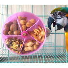 Easy Install Cage Accessories - Birds Parrots Food Container Lid with Holes