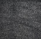 SOFT 14mm Thick Grey - Black - Silver Saxony Carpet 4m Wide Remnant/Roll End