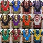 Внешний вид - Dashiki Men Shirt African Hippie Vintage Women Top Haute Tribal Blouse One Size