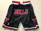 New Men's Chicago BULLS Just don big LOGO Basketball Retro pants Mesh Black on eBay
