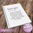 FOOD JOURNAL - Hangry (G008W) 12wk slimming diet tracker journal diary notebook