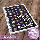 DIET DIARY SLIMMING WORLD COMPATIBLE - Dont Just Eat It. Planet. (S001W) 12wk