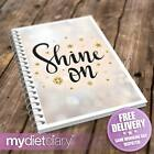 WEIGHT LOSS DIARY - Shine On (G048W) 12wk journal weight loss notebook diary