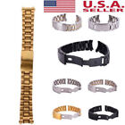 18/20/22/24mm Stainless Steel Strap Band Clasp Metal Watch Bracelet Replacement  image