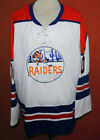 NEW YORK RAIDERS WHA RETRO HOCKEY JERSEY GARY KURT NEW SEWN ANY SIZE