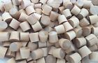 "Birch 1/4"" Flat Head Furniture Plugs ~ Pacakge of 500"