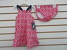 Infant Girls $32.50 Nautica Magenta Dress w/ Bloomers 2pc Set Sizes 12M - 24M