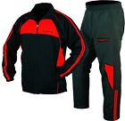 ISLERO Polyester Micro Tracksuit Gym Jogging Running Zipper Trouser Football Fit