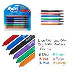 Expo 1751667 Click Low-Odor Dry Erase Retractable Markers, Fine Point, Assorted