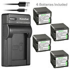 Kastar Battery Slim Charger for Panasonic VBG260 HDC-TM700 HDC-TM700K Camcorder