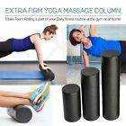 Black Extra Firm High Density Foam Roller Muscle Back Pain Trigger Yoga@9