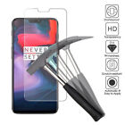 One Plus 6 Tempered Glass Screen Protector or Clear TPU Gel Case Premium Quality
