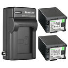 Kastar Battery Wall Charger for Canon BP-828 BP-820 & Canon XA30 Video Camera